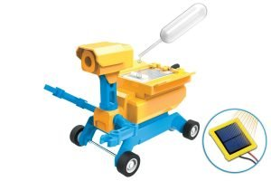 Tenergy Odev Geo STEM DIY Building Toy 2-in-1 Salt Water or Solar Powered Robot Car Kit